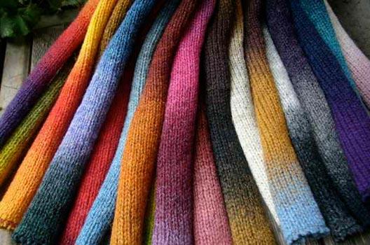 Пряжа кауни образцы вязания